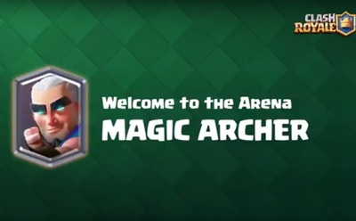 Clasj Royale Magic Archer for iOS and Android.