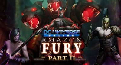 DC Universe Online Amazon Fury II