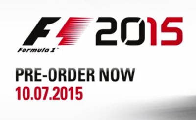 F1 2015 for Windows, PS4 and Xbox One