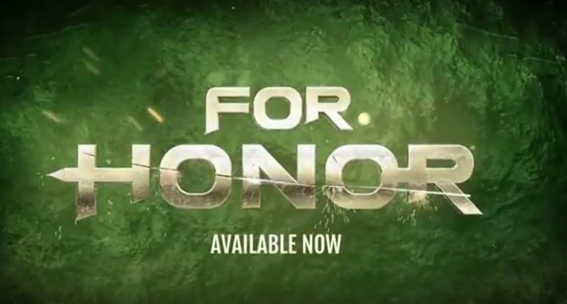 For Honor on PlayStation 4, Xbox One, and Windows Computers
