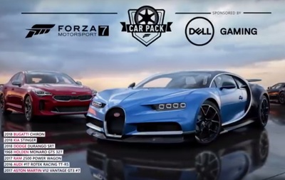 Forza Motorsports 7 Dell Car Pack DLC for Xbox One and Windows Computers