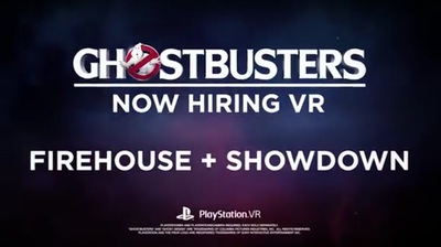 Ghostbusters Now Hiring VR