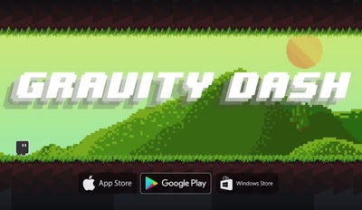 Gravity Dash for iOS, Android and Windows Mobile