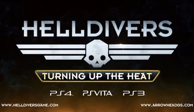 Helldivers Turning up the Heat for PS3, PS4 and PS Vita