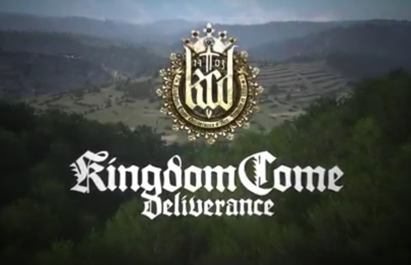 Kingdom Come Deliverance for PS4, Xbox One and Windows.