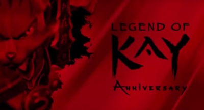 Legend of Kay Anniversaru Edition for Windows and Mac computers, PlayStation 4, Wii U and Nintendo Switch.