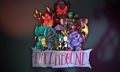 Paperbound game on PS4 and Steam