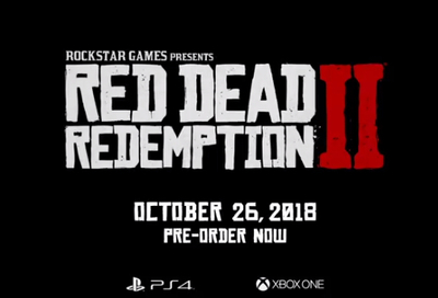 Red Dead Redemption 2 for PS4 and Xbox One