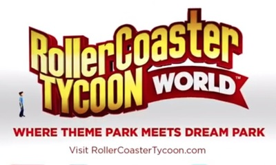 RollerCoaster Tycoon World by Pipeworks Software and Atari