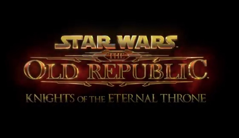 Star Wars The Old Republic Knights of the Eternal Throne  - Computer Trailer: Star Wars The Old Republic Knights of the Eternal Throne