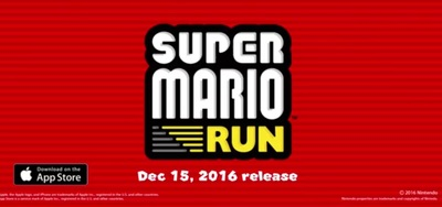 Super Mario Run for iOS and Android