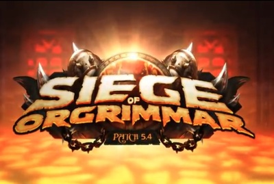World of Warcraft Siege of Orgrimmar patch